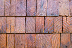 Shingle Aged Wooden Background Stock Image