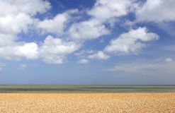 Shingle beach Stock Image