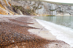 Shingle Beach, The Needles Isle of Wight Stock Photos