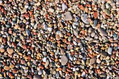Shingle beach Stock Photography