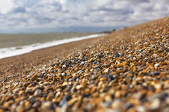 Shingle in English Hythe, close to the gravel Stock Photo