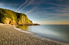 Shingle a praia Fotografia de Stock Royalty Free