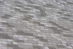 Shingle Roof. A shingle roof close up Stock Image