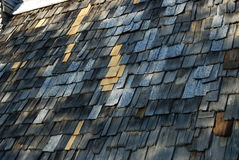 Shingle Roof Stock Photography