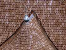 Shingle roof Stock Image