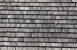 Shingle roof pattern Royalty Free Stock Photos