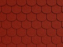 Shingle roof. Pattern, high res textured background Royalty Free Stock Photography