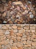 Shingle, stone texture background Stock Image