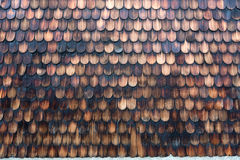 Shingle wall Royalty Free Stock Photos