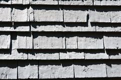 Shingle Wall Royalty Free Stock Image
