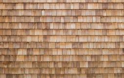 Shingle Wooden Background Stock Photos