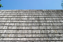 Shingled roof - old house Royalty Free Stock Photography