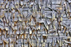 Shingled wall. Royalty Free Stock Image