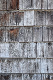 Shingled Wall Royalty Free Stock Images