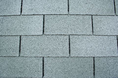Shingles. A close shot of roofing shingles Royalty Free Stock Photography