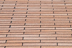 Shingles Background. Angular overlapped roof shingles as a background Royalty Free Stock Photography