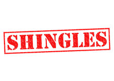 SHINGLES Royalty Free Stock Photo