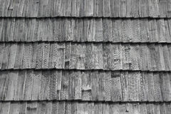 Shingles roof Stock Images
