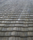 Shingles roof pattern Stock Photography