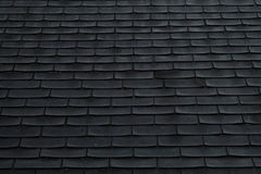 Shingles On a Roof Stock Image