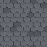 Shingles roof seamless pattern Royalty Free Stock Images