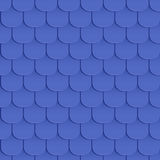 Shingles roof seamless pattern Stock Photography