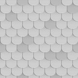 Shingles roof seamless pattern Royalty Free Stock Photo