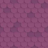 Shingles roof seamless pattern Stock Photos