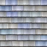 Shingles roof tiles. A large image of blue stone roof shingles or tiles Royalty Free Stock Photography