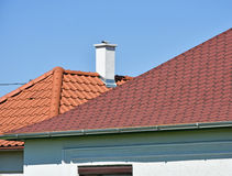 Shingles and roof tiles Stock Image