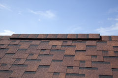 Shingles on the roof Royalty Free Stock Photos