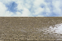 Shingles on Rooftop Royalty Free Stock Image