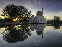 Shining at As-Salam Mosque Stock Photography