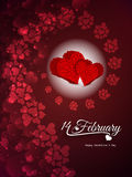 Shining background design for valentine's day Stock Photos