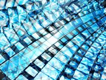 Shining blue 2 Stock Images