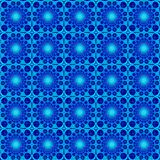 Shining blue moonlight seamless pattern royalty free illustration