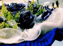 The shining blue Rose Royalty Free Stock Photos