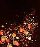 Shining blur bokeh background for your design. Royalty Free Stock Photography
