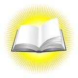 Shining book illustration Royalty Free Stock Photography