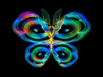 Shining Butterfly Royalty Free Stock Images