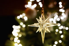 Shining christmas star Royalty Free Stock Images
