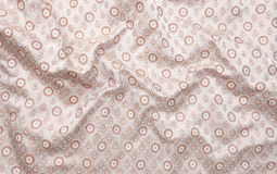 Shining circle background cloth Royalty Free Stock Image