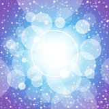 Shining circles abstract background Stock Photos