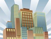 Shining City Stock Image