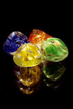 Shining Colored Glass Stones Royalty Free Stock Image
