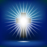 Shining Cross  Stock Photo