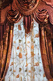 Shining curtains Stock Images
