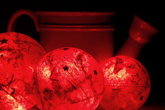 Shining decoration balls Stock Images