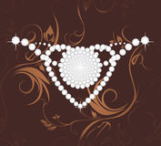 Shining diamond heart Royalty Free Stock Image