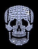Shining diamond luxury skull, jewel, crystal, fashion, glamor Stock Photo